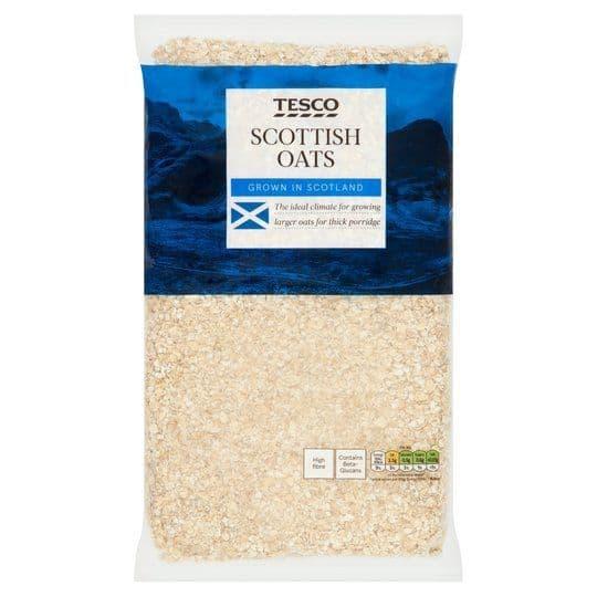 Tesco Scottish Oats Porridge 1kg