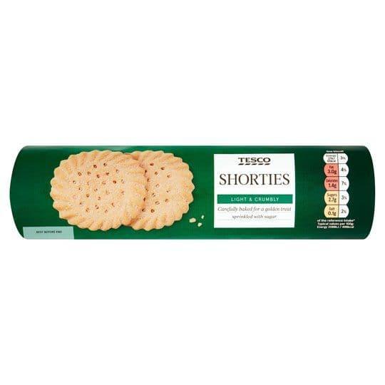 Tesco Shorties Biscuits 300g