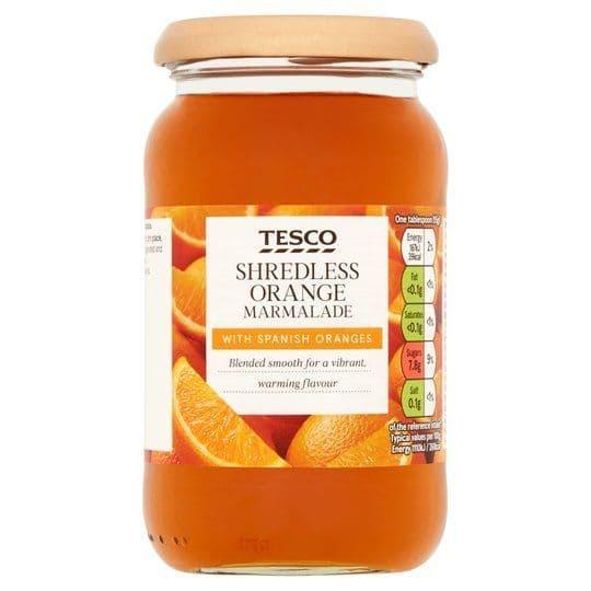 Tesco Shredless Orange Marmalade 454g