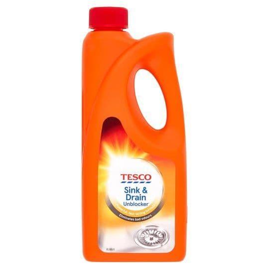 Tesco Sink & Drain Unblocker 500ml