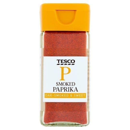 Tesco Smoked Paprika 48g