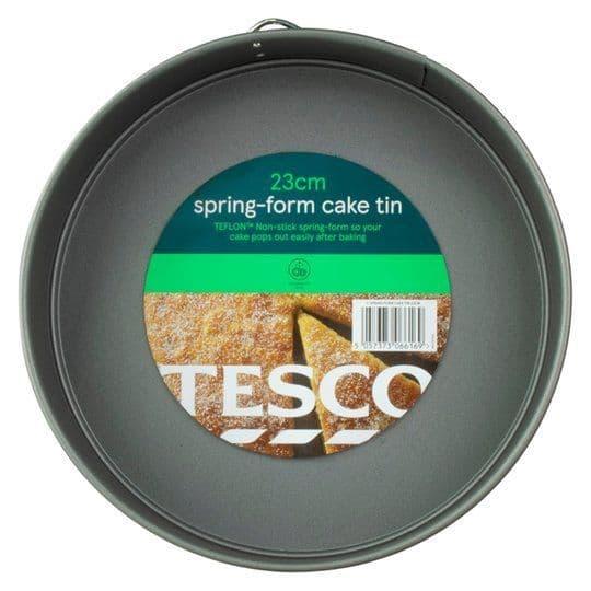 Tesco Spring Form Cake Tin 23cm