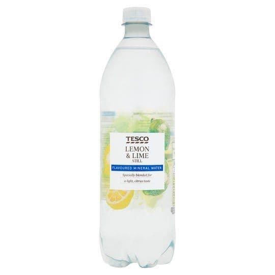Tesco Still Lemon & Lime Water 1L