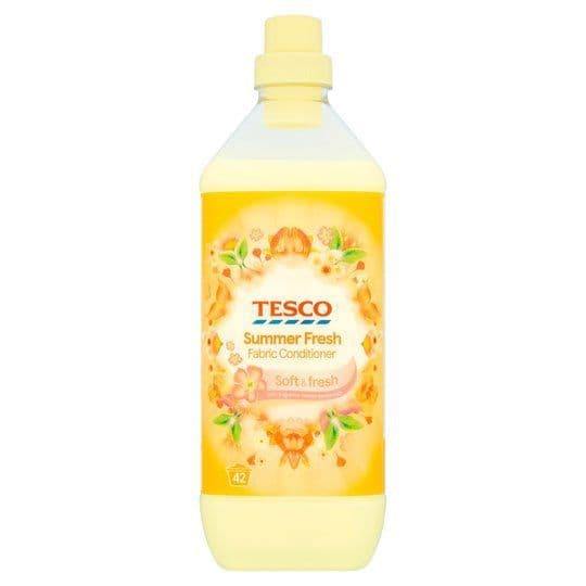 Tesco Summer Fresh Fabric Conditioner 42 Washes
