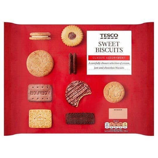 Tesco Sweet Biscuit Assortment 400g