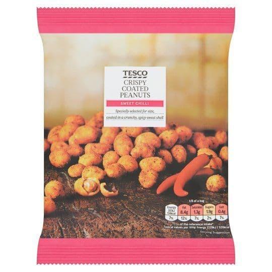 Tesco Sweet Chilli Crispy Coated Peanuts 200g