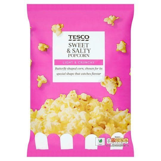 Tesco Sweet & Salty Popcorn 110g