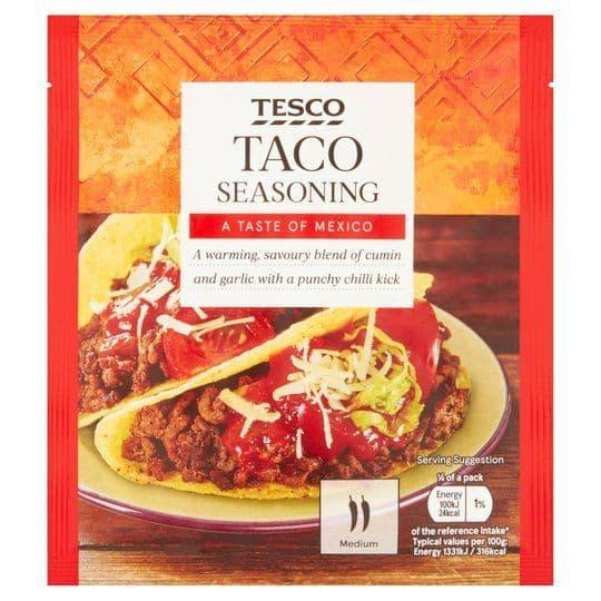 Tesco Taco Seasoning 30g