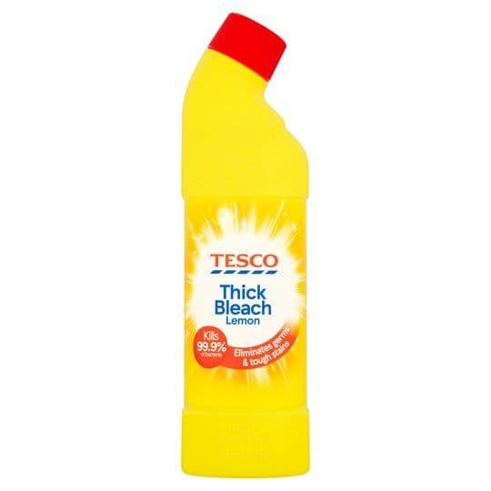 Tesco Thick Bleach 24Hr Citrus 750ml