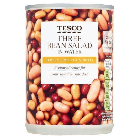 Tesco Three Bean Salad in Water 400g