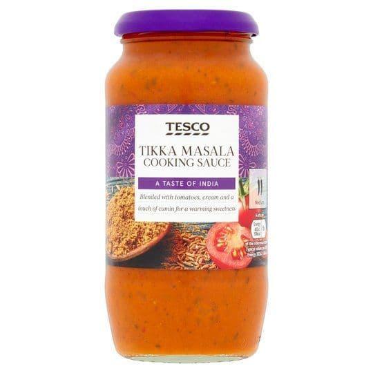 Tesco Tikka Masala Cooking Sauce 500g