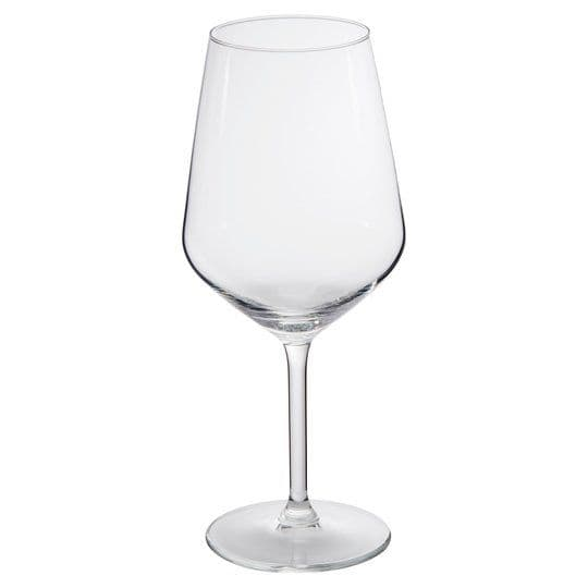 Tesco Timeless Square Wine Glass 4pk