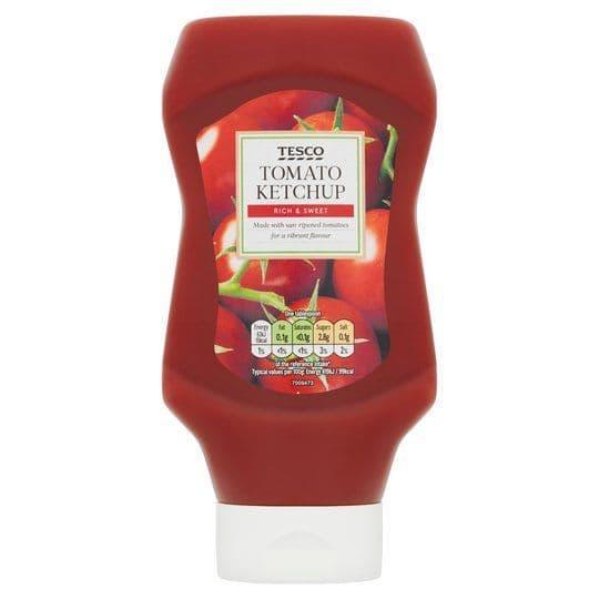 Tesco Tomato Ketchup 555g