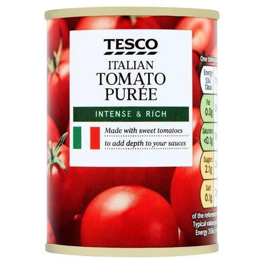 Tesco Tomato Puree Tin 142g