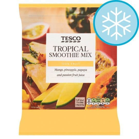 Tesco Tropical Smoothie Mix 500g