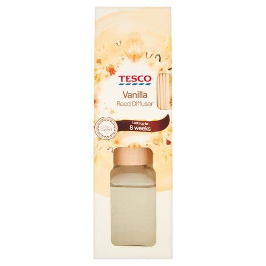 Tesco Vanilla Reed Diffuser 80ml