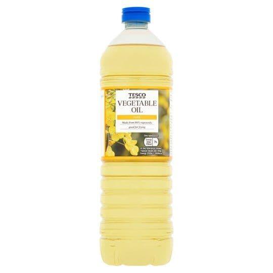 Tesco Vegetable Oil 1L