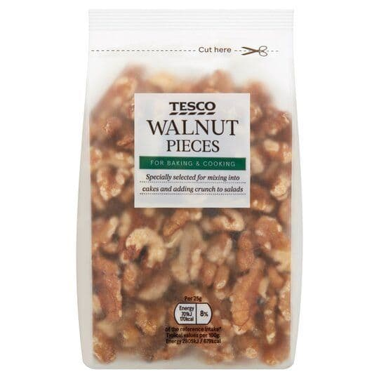 Tesco Walnut Pieces 200g