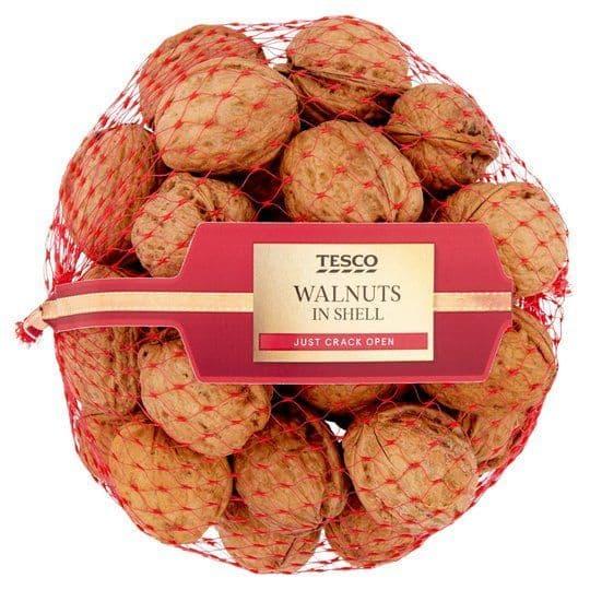 Tesco Walnuts in Shell 350g