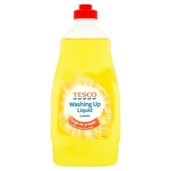 Tesco Washing Up Liquid Lemon 450ml