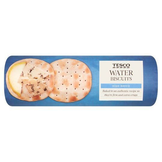 Tesco Water Biscuits 200g
