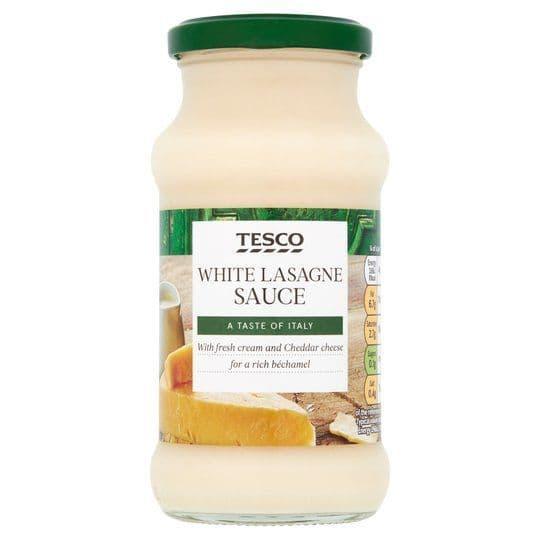 Tesco White Lasagne Sauce 340g