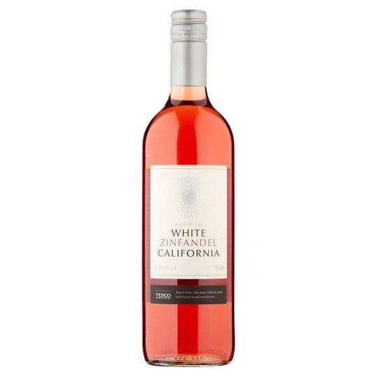 Tesco White Zinfandel California 75cl