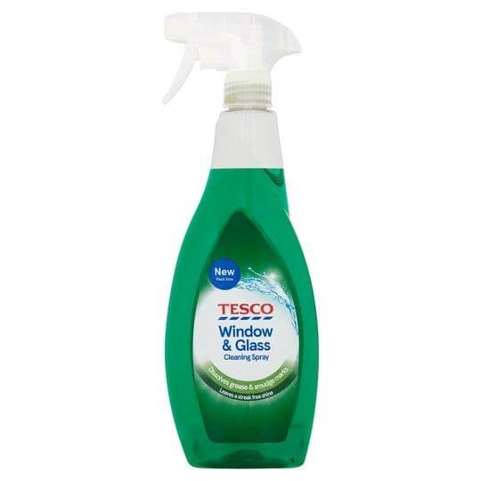 Tesco Window & Glass Cleaning Spray 750ml