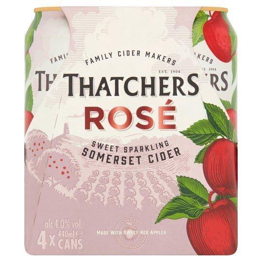 Thatchers Rose Cider 4Pk