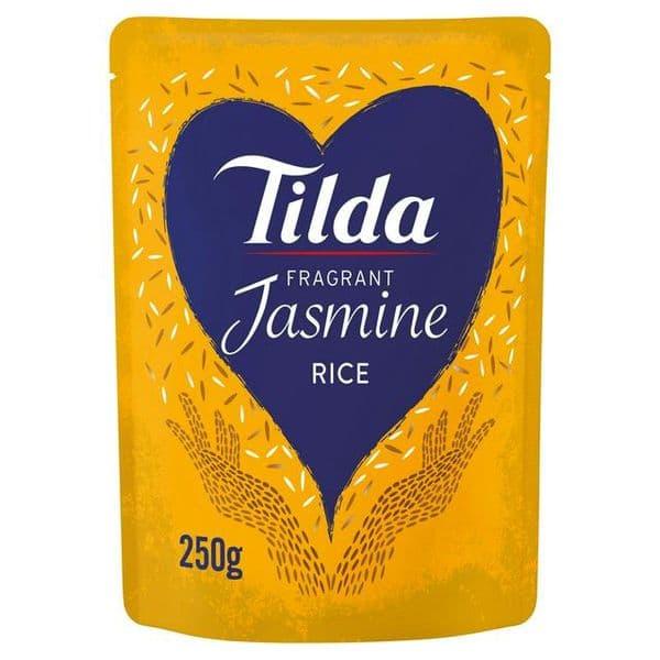 Tilda Steamed Jasmine Rice 250g
