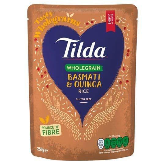 Tilda Wholegrain Basmati & Quinoa 250g