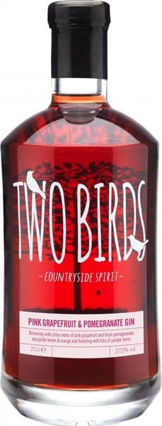 Two Birds Pink Grapefruit & Pomegranate Gin 70cl