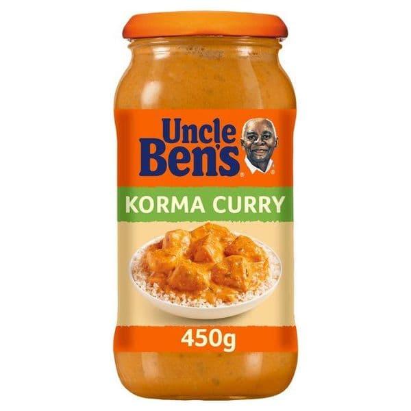 Uncle Bens Korma Curry Sauce 450g
