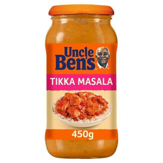 Uncle Bens Tikka Masala Sauce 450g
