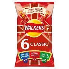 Walkers Variety 6 Pack