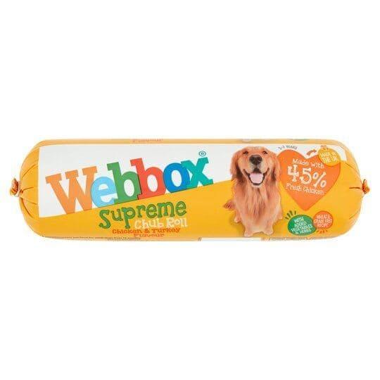 Webbox Supreme Chub Roll Chicken & Turkey 720g