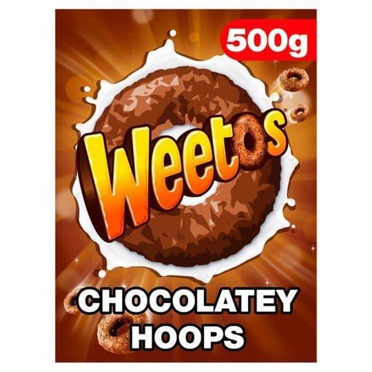Weetabix Chocolate Weetos 500g