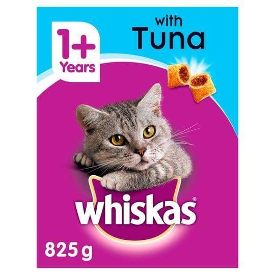 Whiskas With Tuna 825g