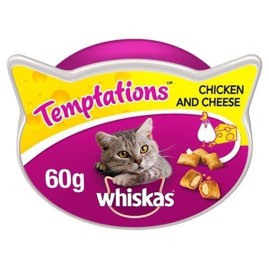 Wiskas Temptations Chicken & Cheese 60g
