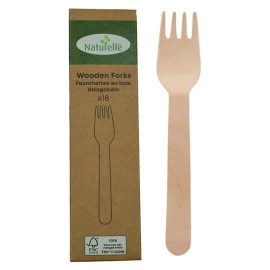 Wooden Forks 18pk