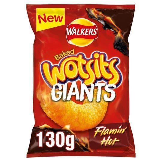 Wotsits Giants Flamin hot 130g