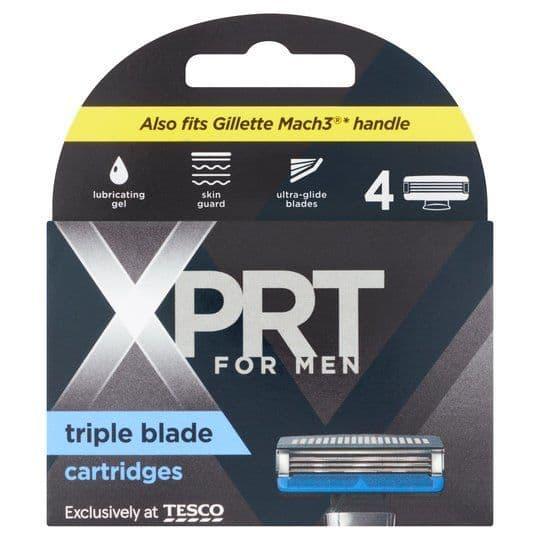 Xprt For Men Triple Blade Refills 4pk