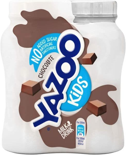 Yazoo Chocolate NAS 4x200ml