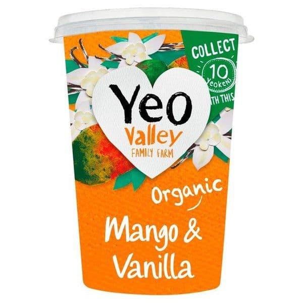Yeo Valley Mango & Vanilla Yoghurt 500g