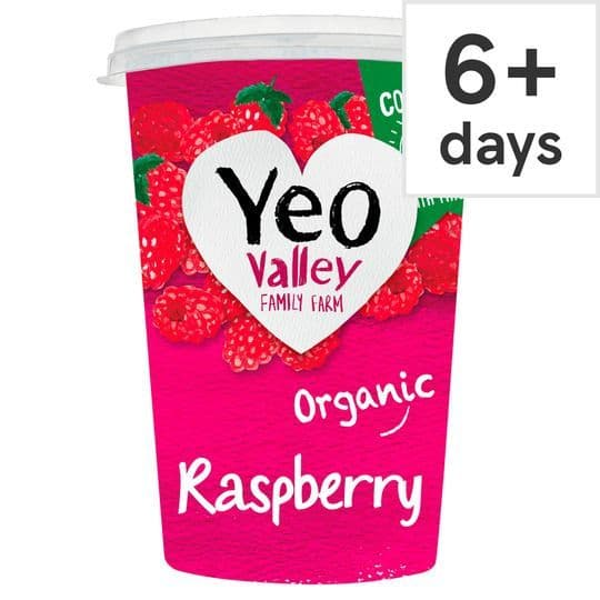 Yeo Valley Raspberry Yoghurt 450g