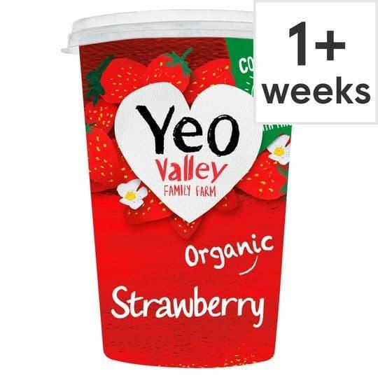 Yeo Valley Strawberry Yoghurt 450g