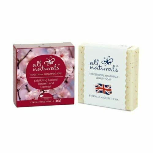 All Naturals Almond Blossom Organic Soap Bars