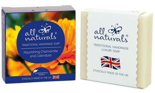 All Naturals Chamomile & Calendula Natural Organic Soap Bar