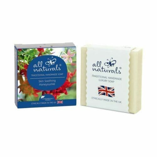 All Naturals Honeysuckle Natural Organic Soap Bar