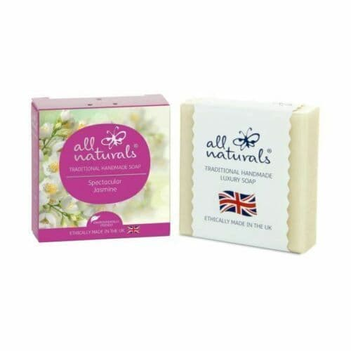 All Naturals Jasmine Natural Organic Soap Bar